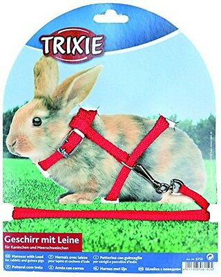 Trixie Nylon Harness with Leash for Rabbit and Small Rodent  6150