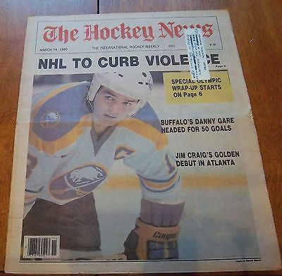 The Hockey News March 14  1980  Danny Gare