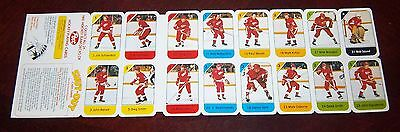 Post cereal panel 1982-83 Calgary flames #2