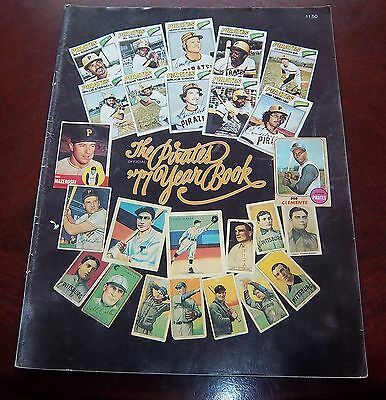 Pittsburgh Pirates Yearbook 1977