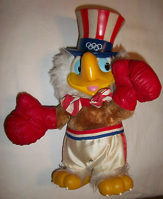 Orig.mascot     Olympic Games LOS ANGELES 1984  -  BOXING SAM  !!   VERY RARE