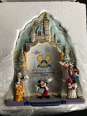 Disney Disneyland 50th Anniversay Celebration Photo Frame New MIB rare