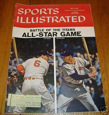sports illustrated  july  8 1957  musial/williams