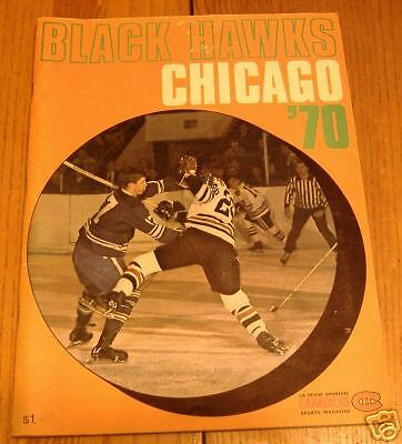 canadians sports magizine 1970 features chicago