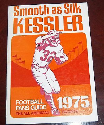 Kessler Football Fans Guide 1975