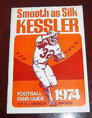 Kessler Football Fans Guide 1974