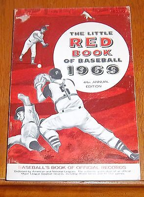 The Little Red Book of Baseball 1969  Baseball's Book of Official Records