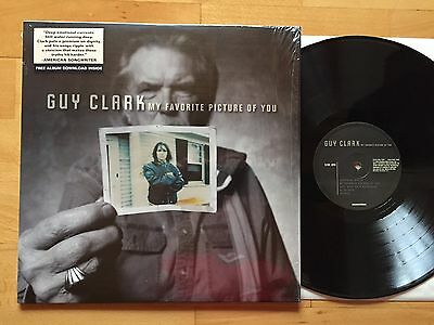 GUY CLARK / My Favorite Picture Of You / LP 1ST PRESS 2013 / MINT
