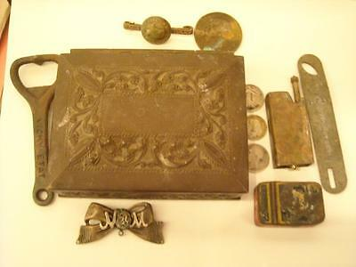 Ww1 Anzac Trench Art Stash Box Named