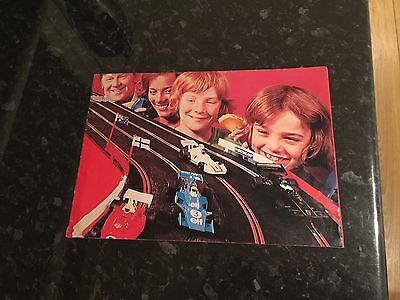 Scalextric 19th Edition Catalogue Missing Front Cover