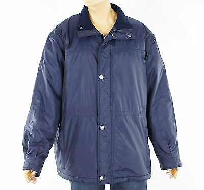 EURO STAR Lancaster HW Riding Equestrian Blue Mens Quilted Jacket Coat Size L