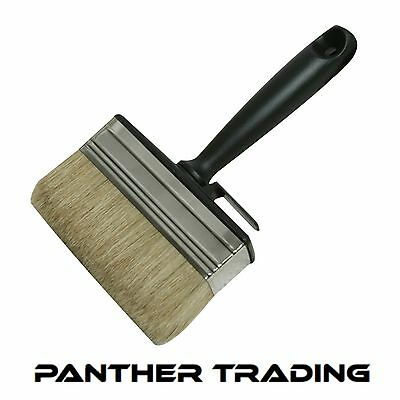 Silverline Thick Block Brush Timber Brush Decorating Painting Tool - 394974