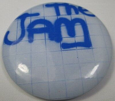 The Jam Large Vintage 1970s 55mm Badge Pin Button Punk New Wave