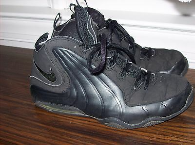 Nike Air Max Black Boy's Basketball Shoes Size 6.5 Youth Sports Sneakers