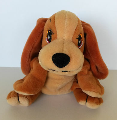 """Disney Lady And The Tramp 5"""" Bean Filled Soft Toy Lady"""