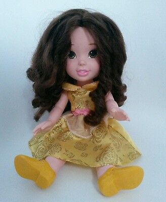 "Disney Tollytots Belle 13"" Beauty And The Beast Toddler Doll"