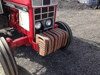 massey ferguson  tractor 135 And 100 Series Tractor  Weights x8