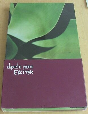 SEALED Depeche Mode Rare Exciter Promo Box Set, 3xCD BCDSTUMM190