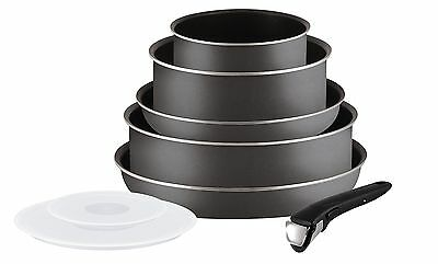 Tefal Ingenio 5l2049902Set of Frying Pans and Saucepans-Essential Charcoal 8P...