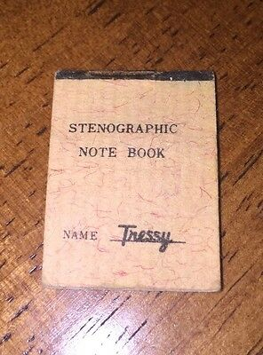 Vintage American Character Tressy Stenographic Note Book Barbie size (B347)