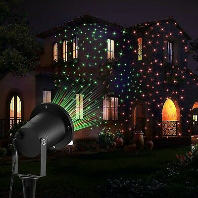 Garden Lights  FeelGlad 2 in 1 Waterproof Starry Outoor Light for Party with ...
