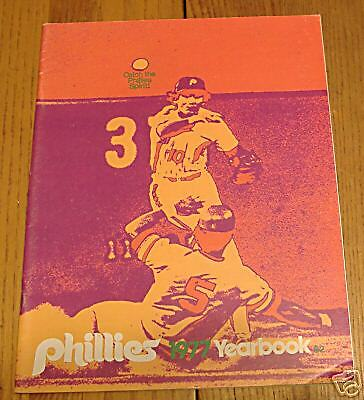phillies yearbook 1977
