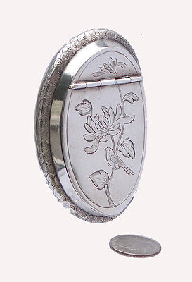 Antique Chinese Silver Snuff Box