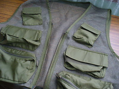 New Mens Armyjacket Camourflage Fishing,hunting,camping Photography Etc.vest