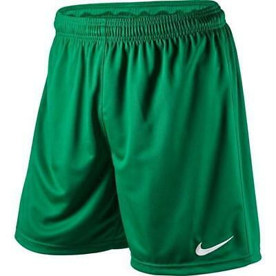 Nike Park Soccer Football Shorts- Green- 100% Official Nike Product