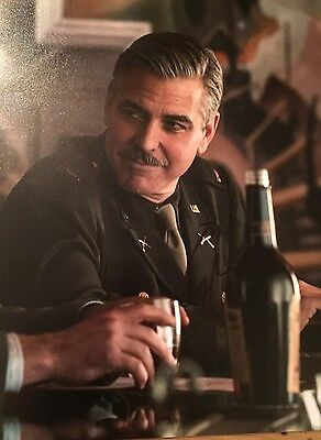 George Clooney ~ HAND SIGNED ~ 10x8 photo ~ Monuments Men ~ AUTOGRAPH