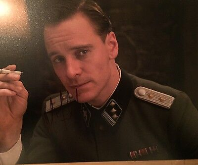 Michael Fassbender ~ HAND SIGNED ~ 10x8 photo ~ Inglourious Basterds ~ AUTOGRAPH