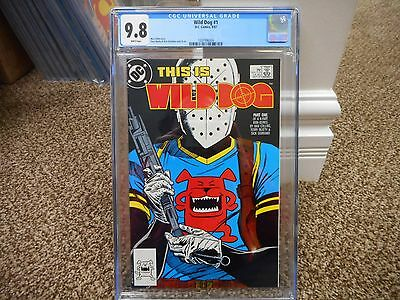 Wild Dog 1 cgc 9.8 1st appearance of Wild Dog DC 1987 Green Arrow Flash TV WHITE