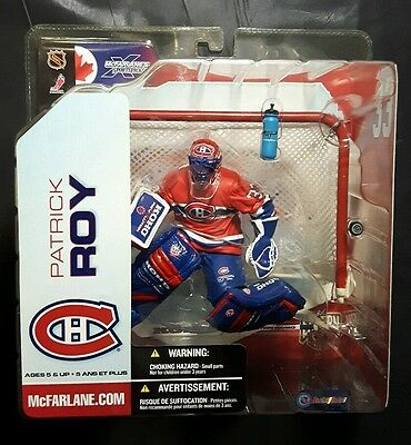 2003 Nhl Series 5, Patrick Roy Variant Red Jersey Action Figure Factory Sealed