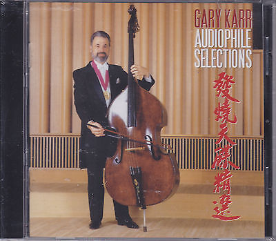 """""""Gary Karr Audiophile Selections"""" CD New Mastered by Pauler Acoustics Stockfisch"""