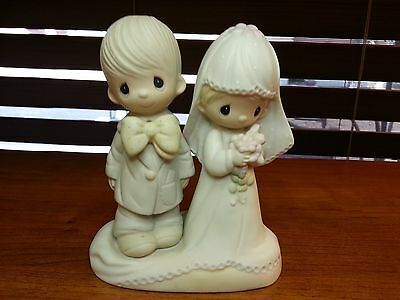 Precious Moments The Lord Bless You and Keep You Bride and Groom 1979 wrong box