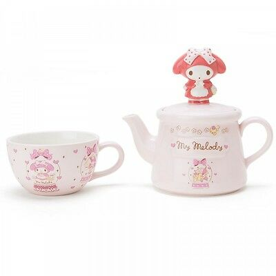 New! My Melody Tea Cup & Pot Set Fairy Tale Dome Kawaii Sanrio f/s from Japan