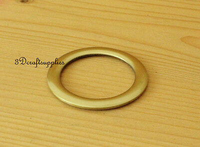 metal O rings O-ring purse ring connector bronze alloying 1 1/2 inch 10pcs AB45