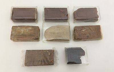 Antique Lot Of 8 Soap Bars One Partial Bar Geo. E. Marsh Co. Lynn MA Late 1800's