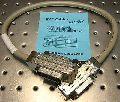 HP-IB IEEE CABLE 0.5 Meters 1.6 Feet long PROBE MASTER 3548 hpib new old stock
