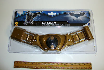 Batman Play Costume Utility Belt New In Package Dc Comics Superhero Dress Up