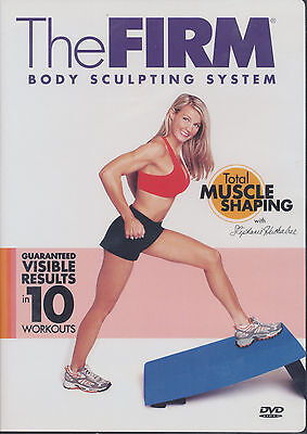 The Firm ~ TOTAL MUSCLE SHAPING ~ DVD as new