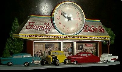 1988 Burwood  Battery Clock Drive in 57 chevy thunderbird made in USA.