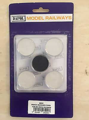 Dapol B804 Motorised Track Cleaner (B800) Spare Cleaning Pads Set HO/OO Freepost