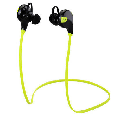 Wireless Bluetooth4.0 Headset SPORT Stereo Headphone Earphone for iPhone Samsung