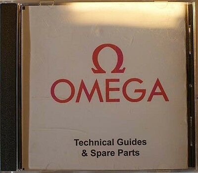 Omega Technical Guides & Spare Parts Of All Calibers, Bracalets, Crowns & Clamps