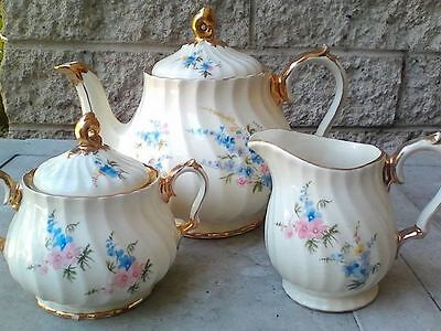SADLER Teapot Sugar & Creamer FINAL REDUCTION