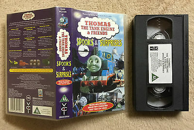 Thomas The Tank Engine & Friends - Spooks And Surprises - Vhs Video