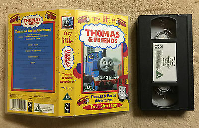 My Little Thomas And (&) Friends - Thomas And Bertie Adventures - Vhs Video