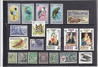 Stamps of the Commonwealth.