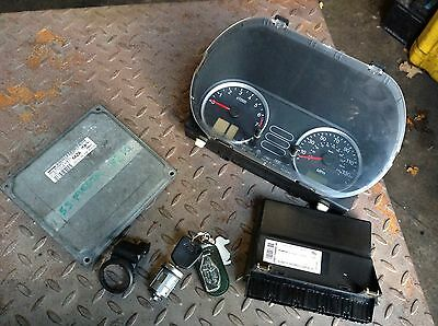 Ford Fiesta Mk6 1.4 16v Ecu Clock Set 4s61-12A650-EA  83k 2004